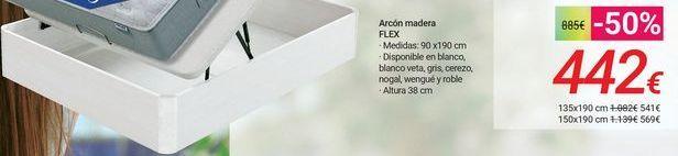 Oferta de Arcón madera FLEX por 442€