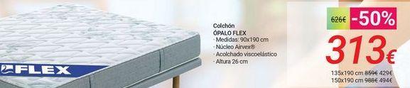 Oferta de Colchón ÓPALO FLEX por 313€