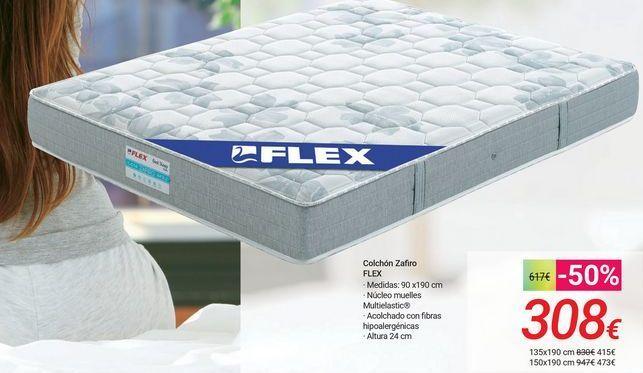 Oferta de Colchón Zafiro FLEX por 308€