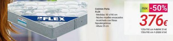 Oferta de Colchón Perla FLEX por 376€