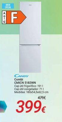 Oferta de CANDY Combi CMICN 5182WN por 399€