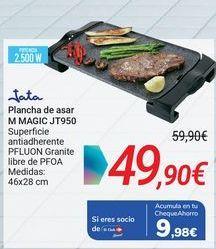 Oferta de Jata Plancha de asa M MAGIC JT950 por 49,9€