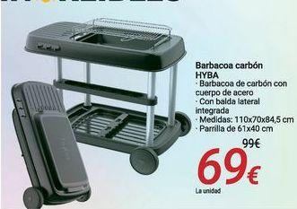 Oferta de Barbacoa carbón HYBA por 69€