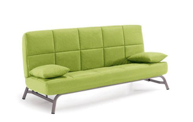 Oferta de Sofá-cama 3 plazas acolchado con espuma de 130x190x13 cm. por 399€