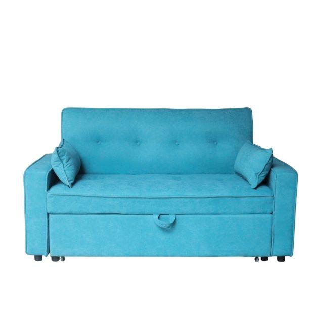 Oferta de Sofá Cama Azul Lexie por 450€