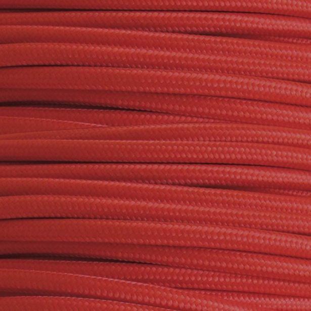 Oferta de Metro De Cable Liso Rojo por 2,95€