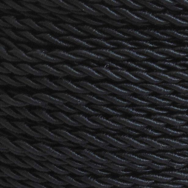Oferta de Metro De Cable Rizado Negro por 3,95€
