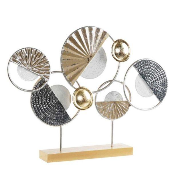 Oferta de Decoracion Metal Circulos por 42,95€