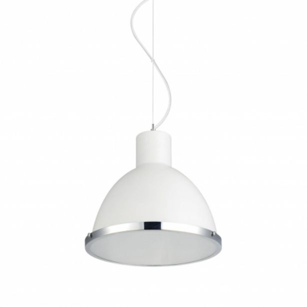 Oferta de Lámpara Colgante Colton Blanco por 75,95€