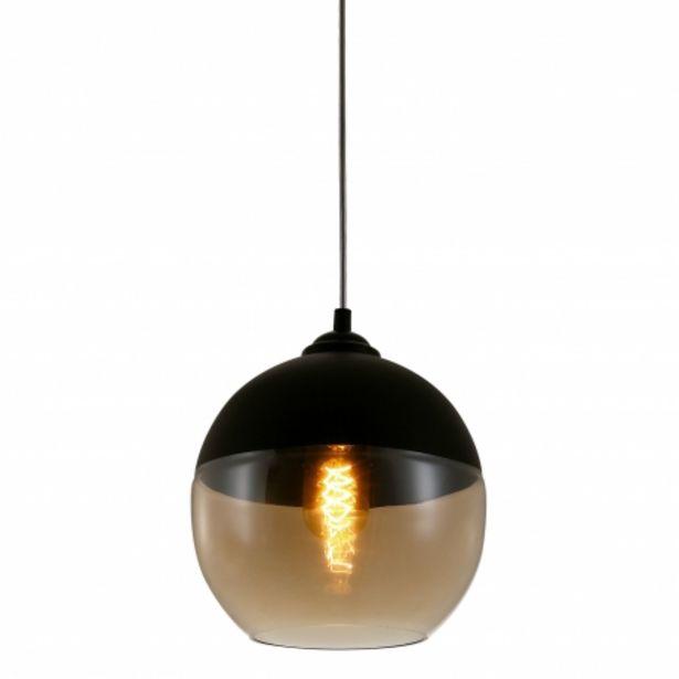 Oferta de Lámpara Colgante Circular Ailann Ámbar por 39,95€