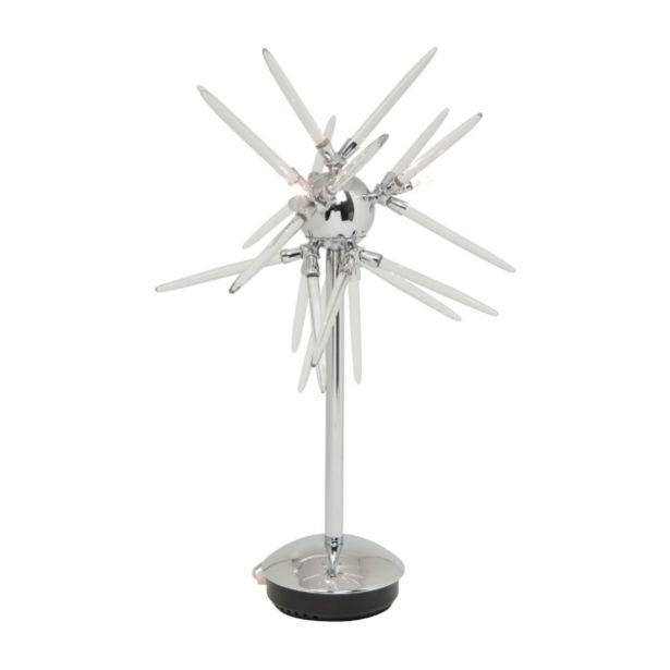 Oferta de Lámpara De Mesa Meraki 3Xg4 Cromo por 99€