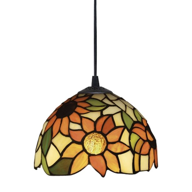 Oferta de Lámpara Colgante Sunflower Tiffany por 88,85€