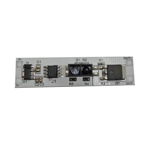 Oferta de Interruptor Tactil 12V/24V Hasta 100W Para Tira Led por 6,7€