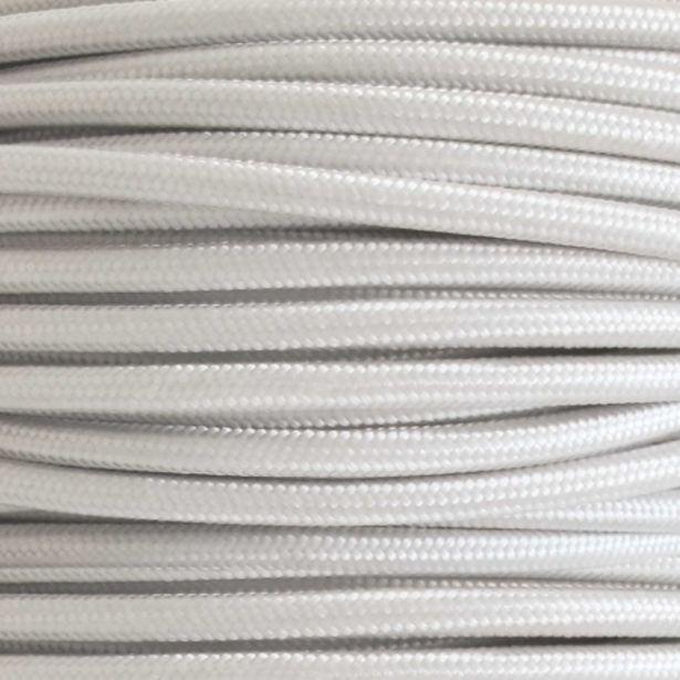 Oferta de Metro De Cable Liso Blanco por 2,95€
