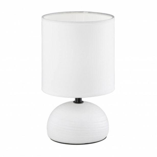 Oferta de Lámpara De Mesa Joel Blanco por 12,95€
