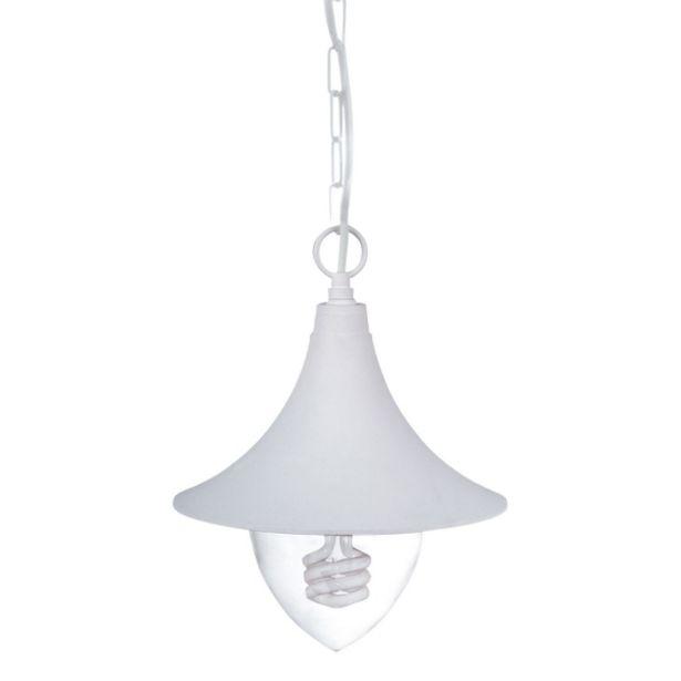 Oferta de Lámpara Colgante Exterior Grass Blanco por 48,28€