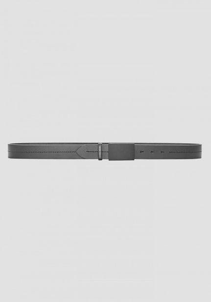 Oferta de Cinturón De Piel Con Costura por 45€