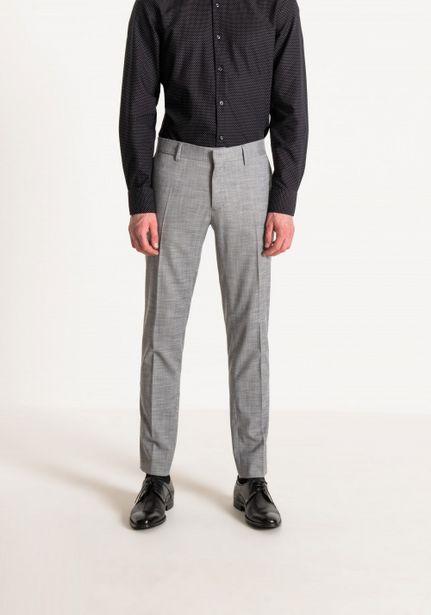 "Oferta de Pantalones Slim ""bonnie"" De Tejido Mélange Ligero por 55,3€"