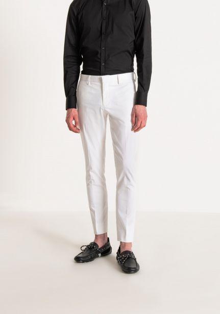 "Oferta de Pantalones Slim ""bonnie"" De Algodón Satinado Ligero por 55,3€"