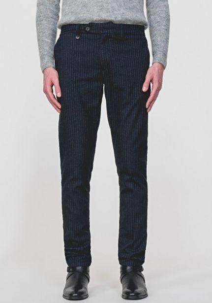 """Oferta de Pantalones De Raya Diplomática Skinny Fit """"bryan"""" De Suave Tejido Stretch por 70,85€"""