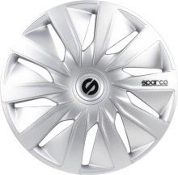 Oferta de Tapacubo rueda SPARCO SPC1390SV por 24,9€