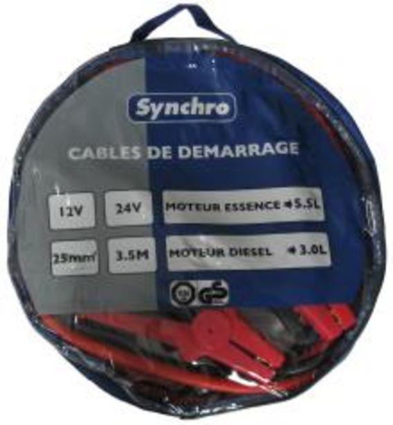 Oferta de Cable de arranque SYNCHRO 222672 por 15,1€