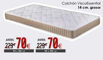 Oferta de Colchón Visco Essential por 70€
