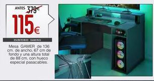 Oferta de Mesa de ordenador ozone por 115€