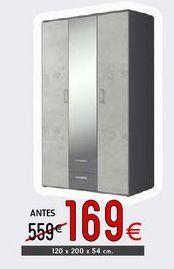 Oferta de Armario ropero por 169€