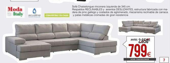 Oferta de Sofá cama por 799€