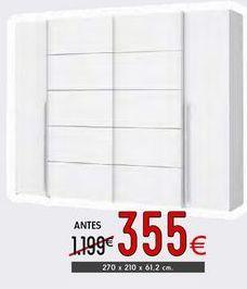 Oferta de Armario con puertas correderas Rio por 355€