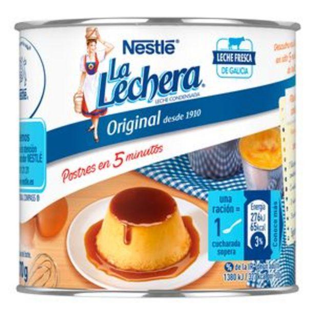 Oferta de Leche condensada La Lechera lata 370g por 1,35€