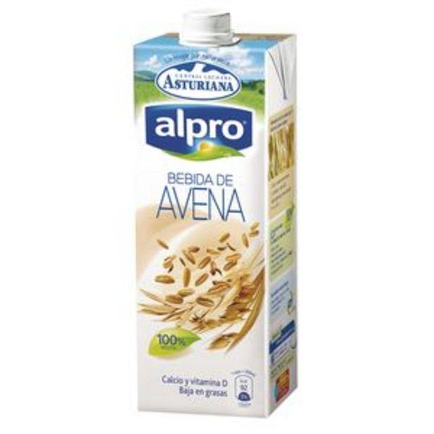 Oferta de Bebida Alpro de avena brik 1l por 1,85€