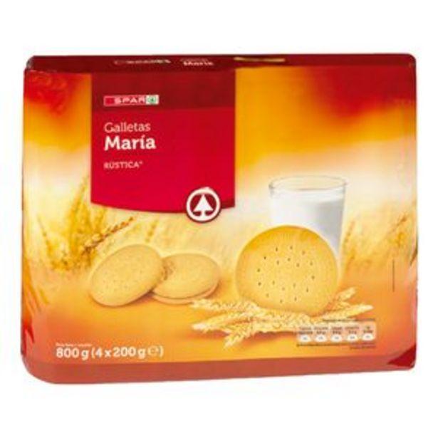Oferta de Galleta María rústica p4x200g por 1,25€