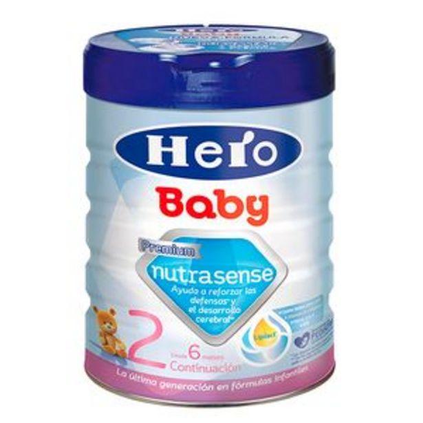 Oferta de Leche continuación en polvo Hero Baby2 bote 800 por 7,45€