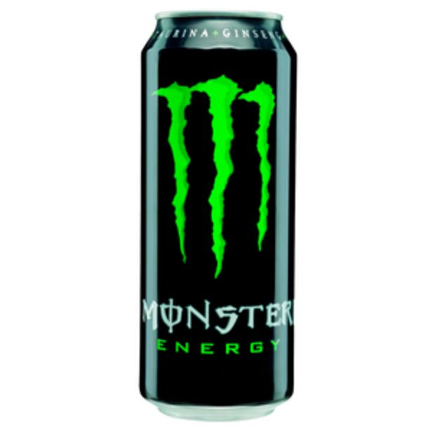Oferta de Bebida energética lata 50cl por 1,15€