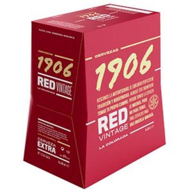 Oferta de Cerveza 1906 red bot. P6x33cl por 6,25€