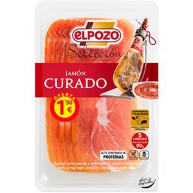 Oferta de Jamón curado Selección en lonchas pte. 90g por 1,5€