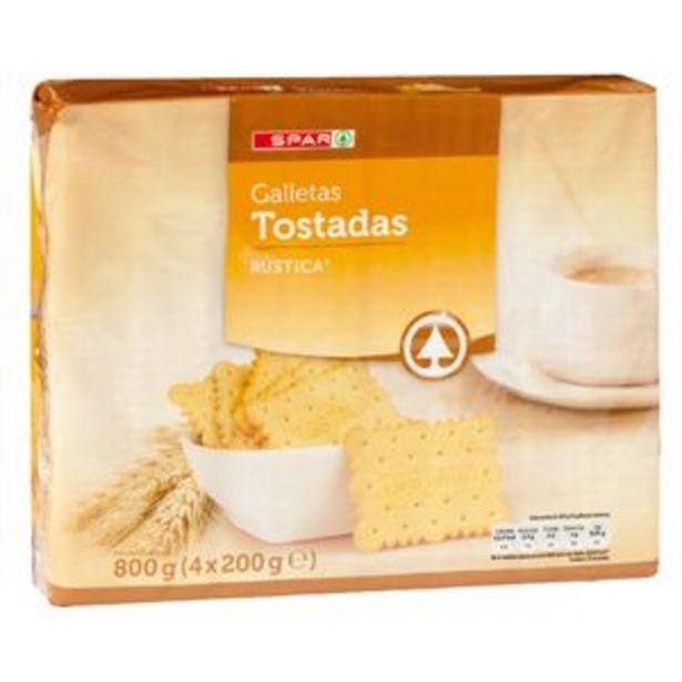 Oferta de Galleta tostada rústica p4x200g por 1,25€