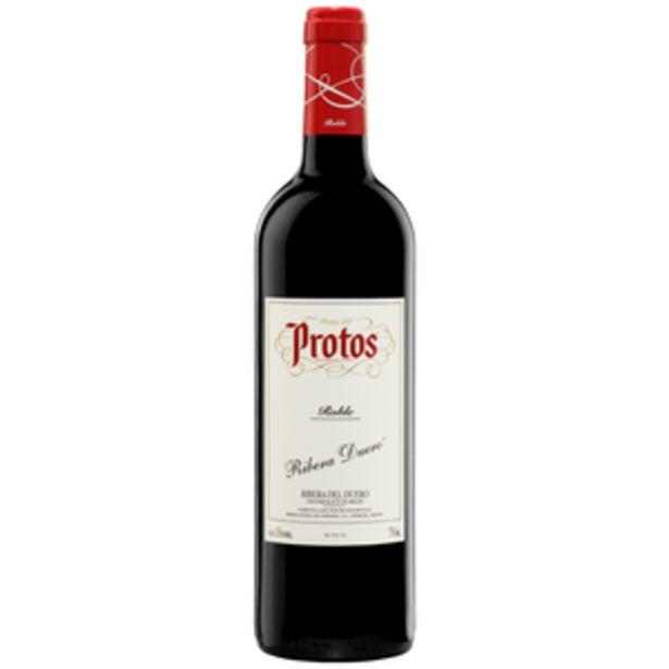 Oferta de Vino tinto D.O. Ribera de Duero roble bot. 75cl por 8,45€