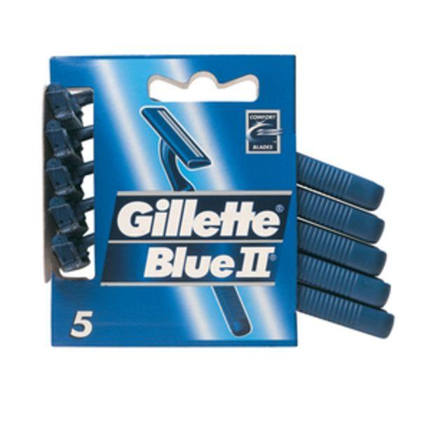 Oferta de Maquinilla de afeitar Blueii pte. 5+1ud. por 2,25€