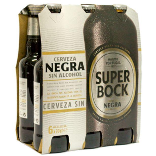 Oferta de Cerveza negra sin alcohol bot. P6x33cl por 4,34€