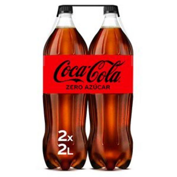 Oferta de Refresco de cola zero bot. 2l bipack por 3,16€