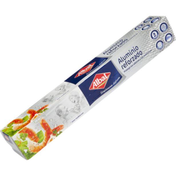Oferta de Papel aluminio rollo 20m por 1,69€