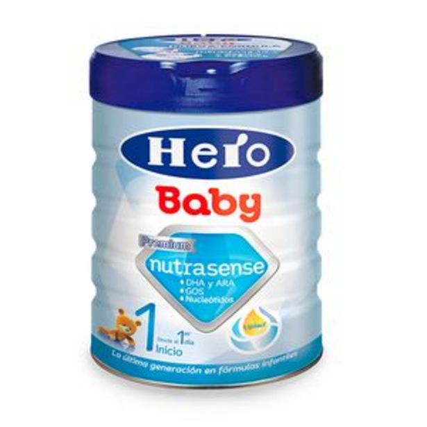 Oferta de Leche continuación en polvo Hero Baby1 bote 800 por 8,95€
