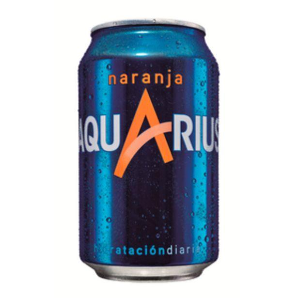 Oferta de Bebida isotónica de naranja lata 33cl por 0,78€