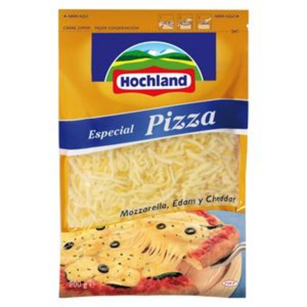 Oferta de Mozzarella rallada bol. 200g por 1,99€