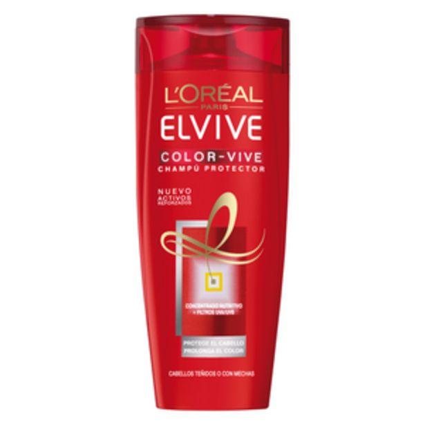 Oferta de Champú Elvive Color Vive bot. 370ml por 3,59€
