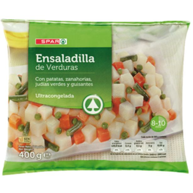 Oferta de Ensaladilla de verduras bol. 400g por 0,59€