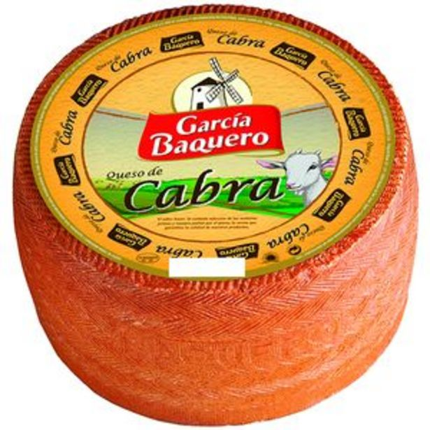 Oferta de Queso de cabra pza. 3kg por 15,5€
